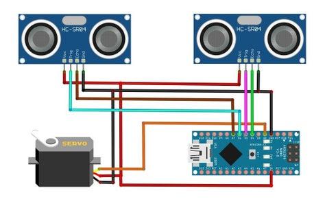 Schematic Diagram and Arduino Code