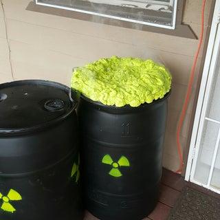 Goldie's Toxic Waste Barrels