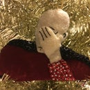 Facepalm Christmas Ornament