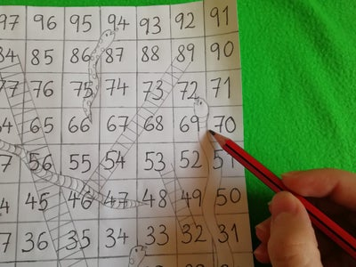 Sketching the Snakes and Ladders