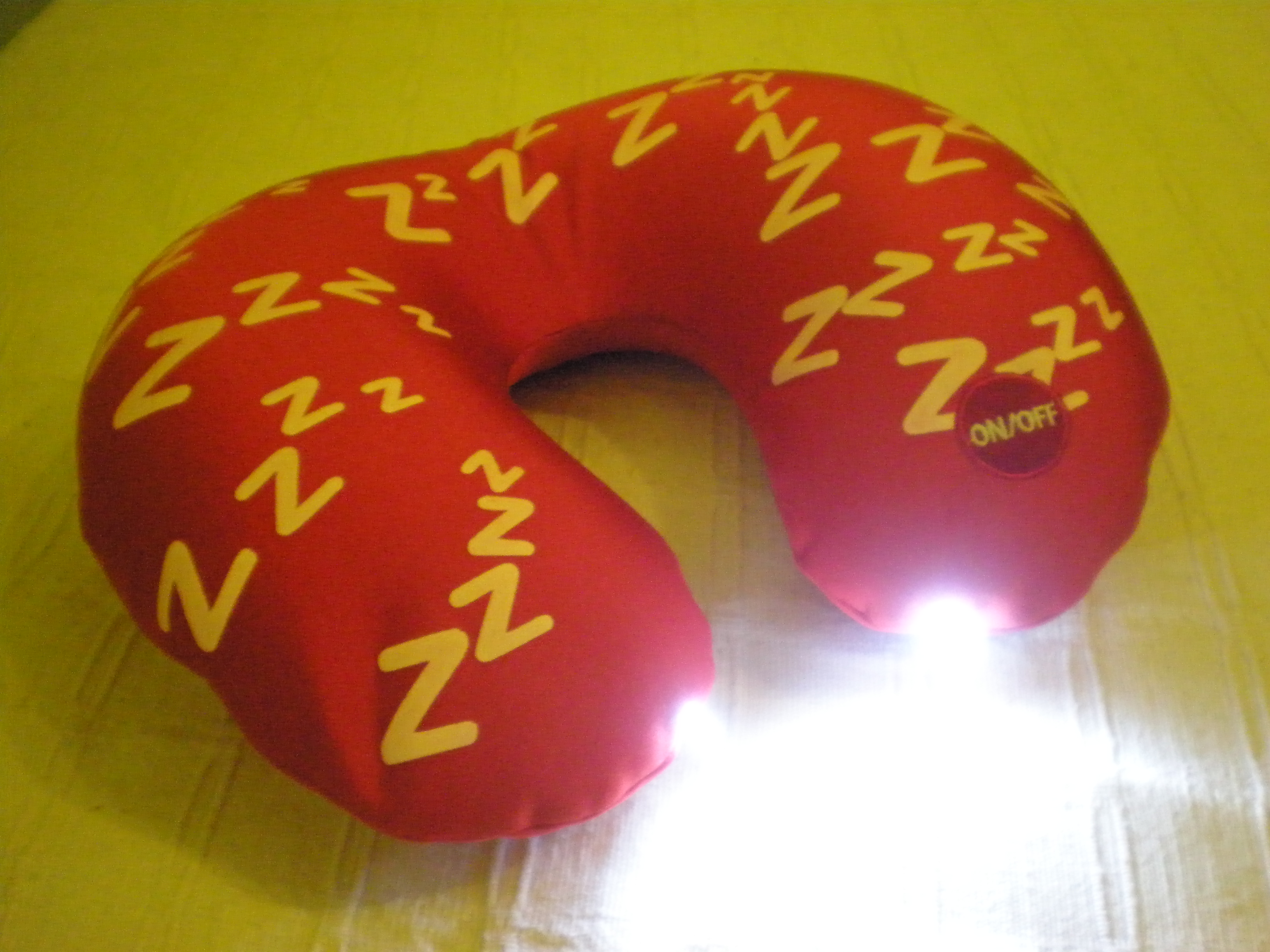 LED Neck Rest Pillow