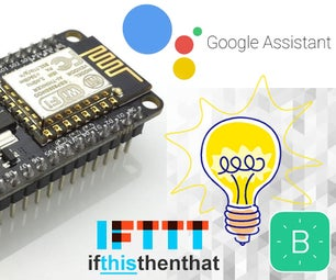 GOOGLE ASSISTANT CONTROLLED SWITCH USING NODEMCU