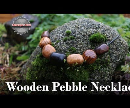 Wooden Pebble Necklace