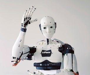 Humanoid Robot Head: InMoov