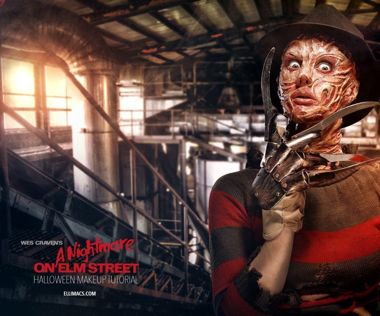 Freddy Krueger - SFX Makeup Tutorial