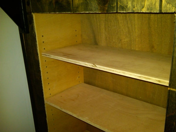 Making More Cabinet Space Under a Bar Counter