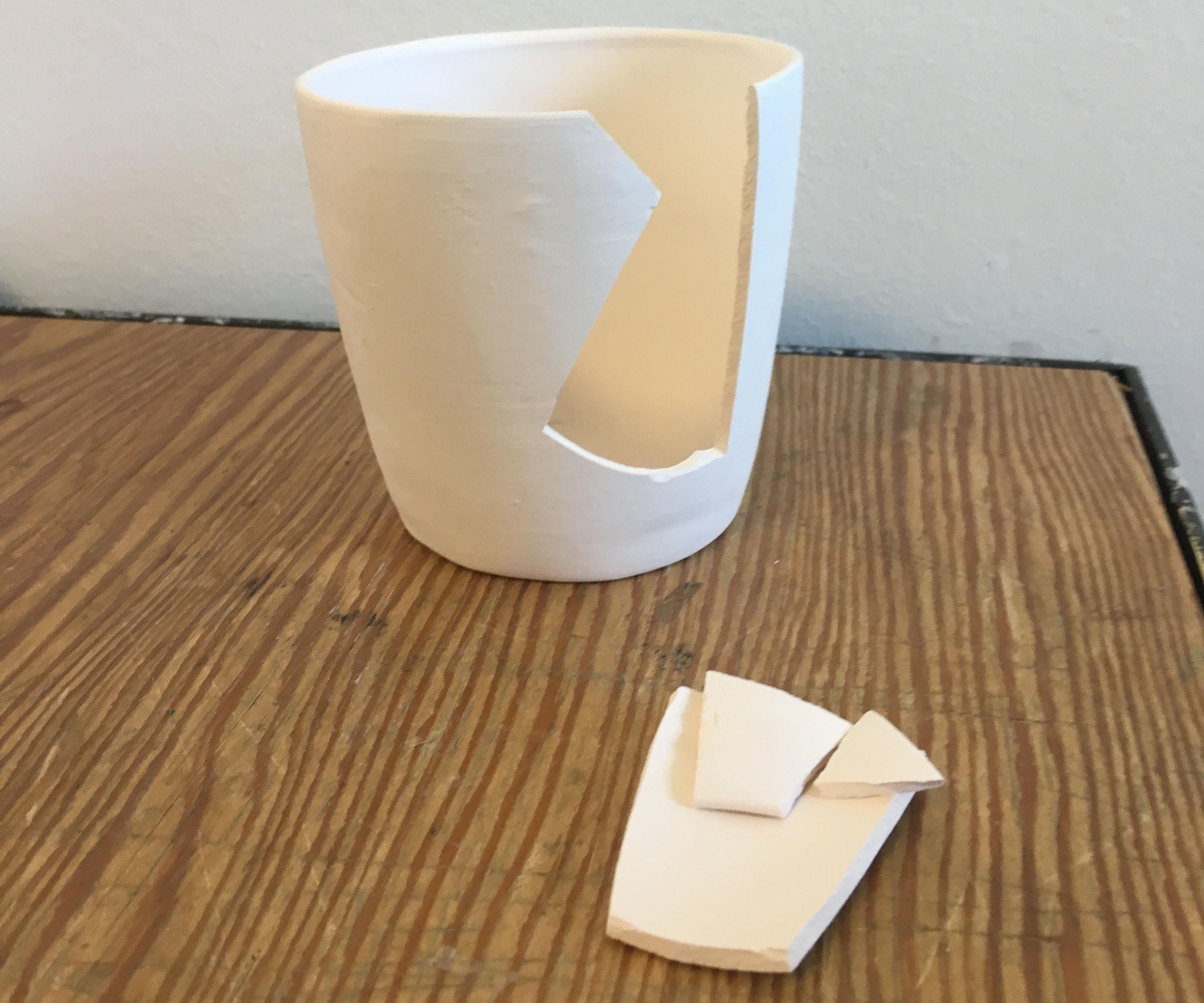 FIX BROKEN PORCELAIN CUP