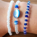 Bracelet From Upcycled Jewelry