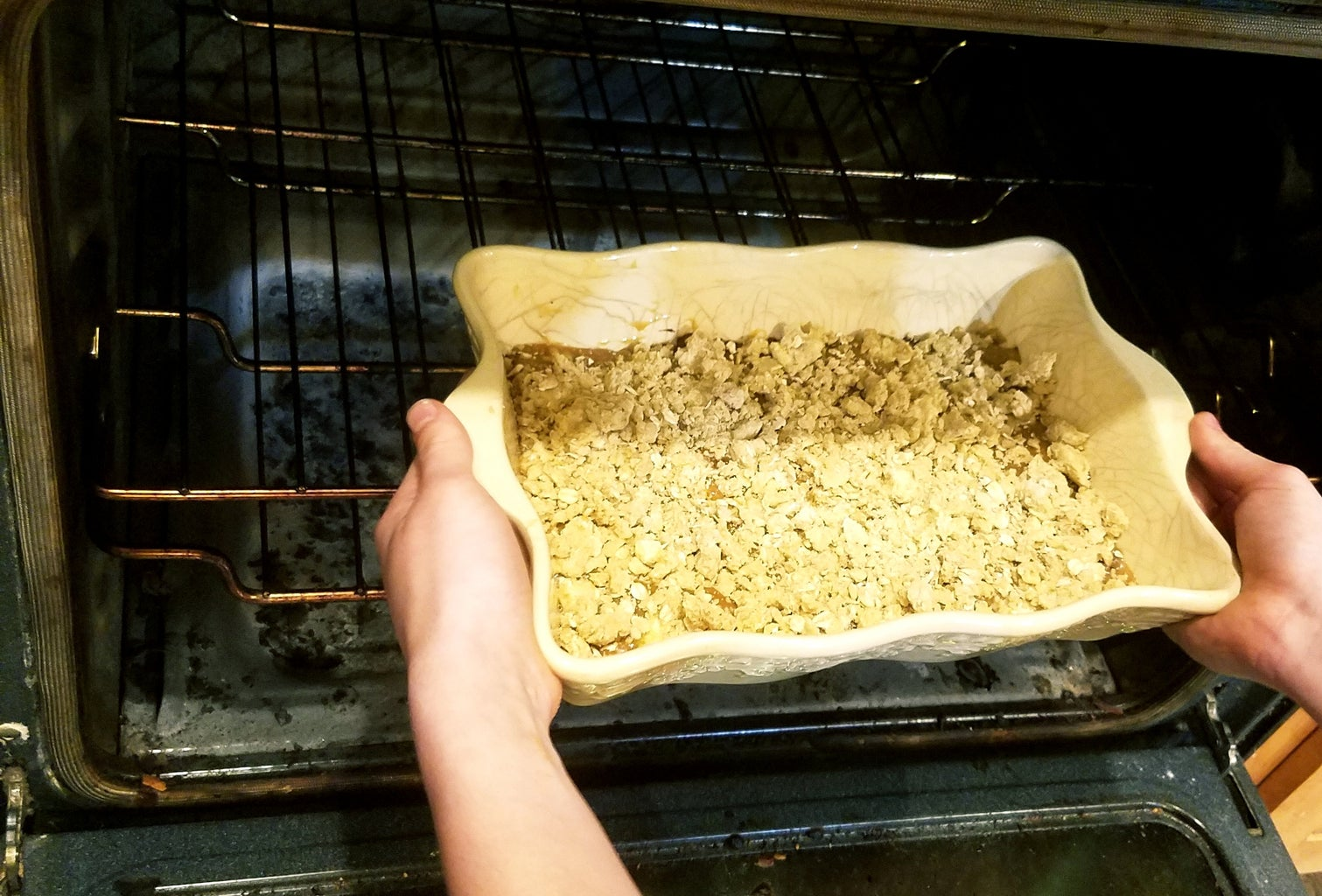 Place in the Oven to Bake