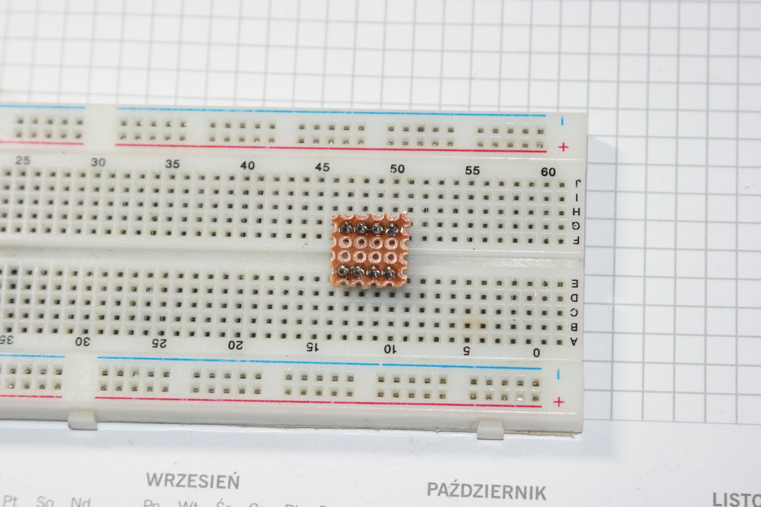 Put Prototyping Board on GOLDPINs and Solder It