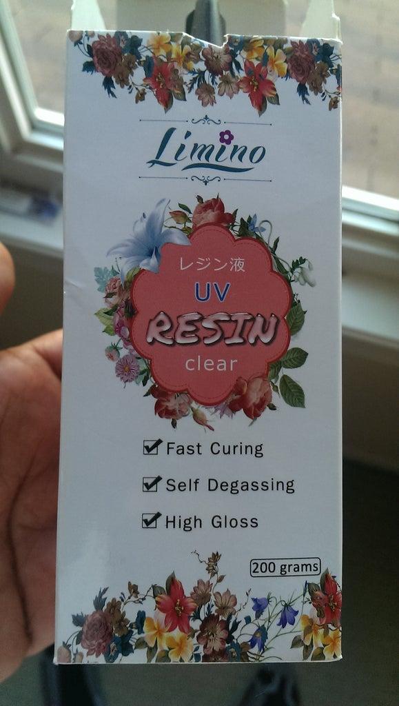Filling UV Resin