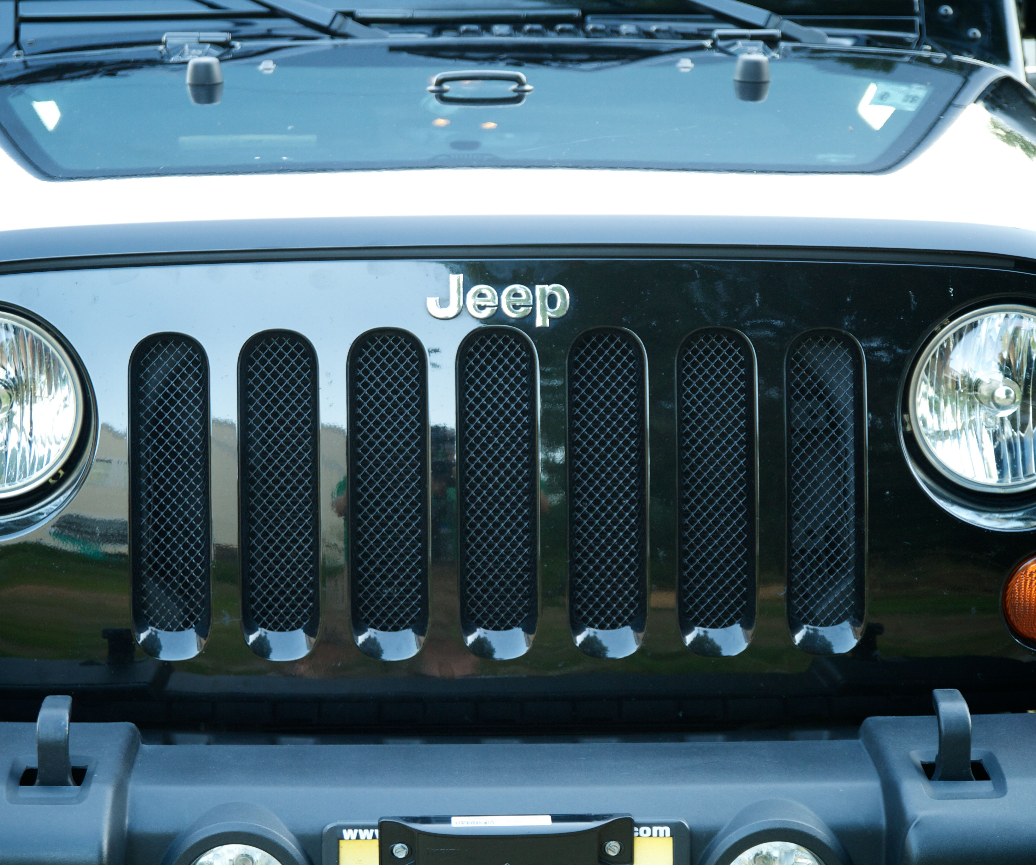 DIY Mesh Grill Guards for a Jeep Wrangler for about $10