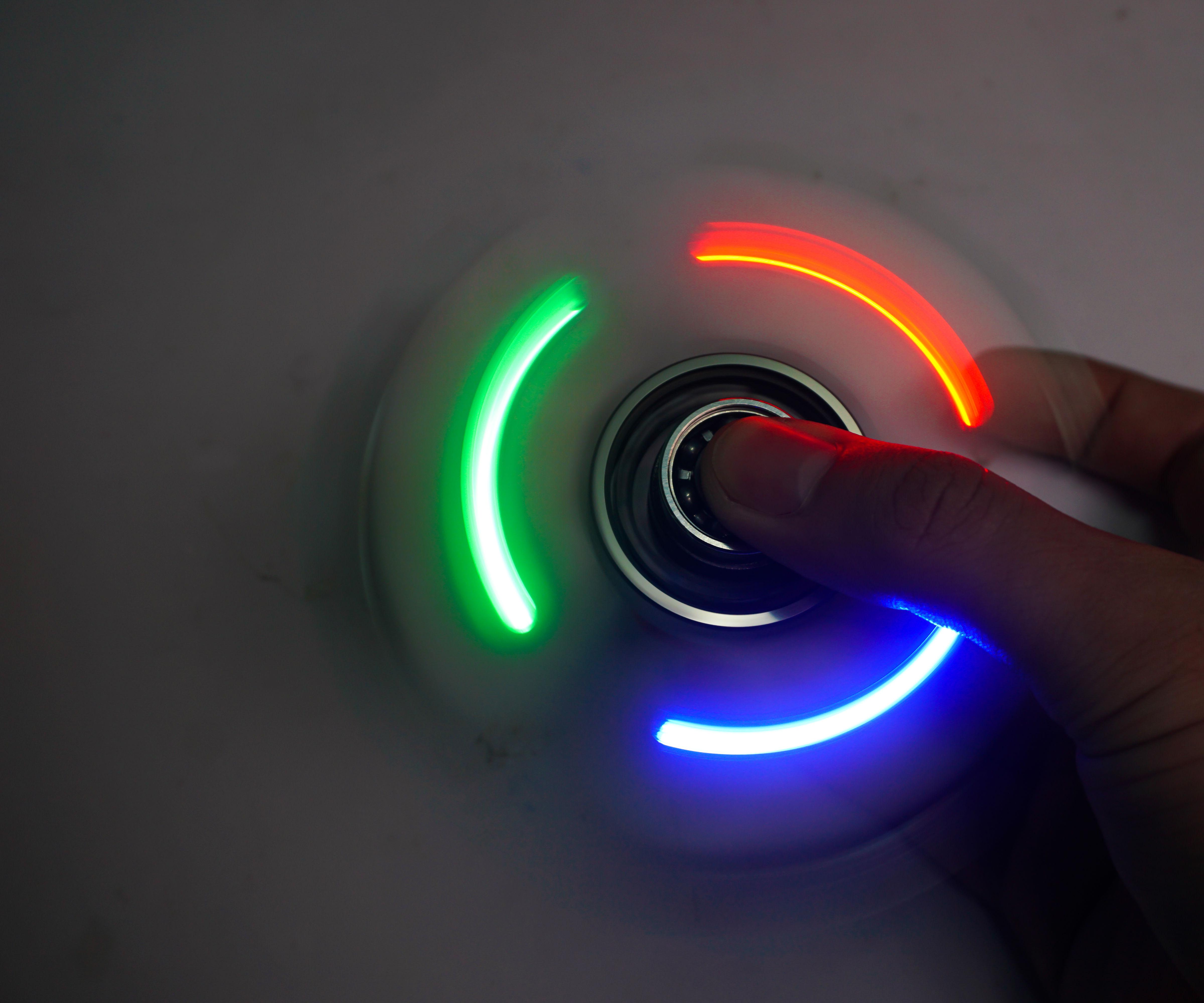 How to Make a LED Fidget Spinner
