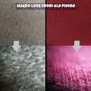 Macro Lens From Old Phone (with Hot Glue Casing)