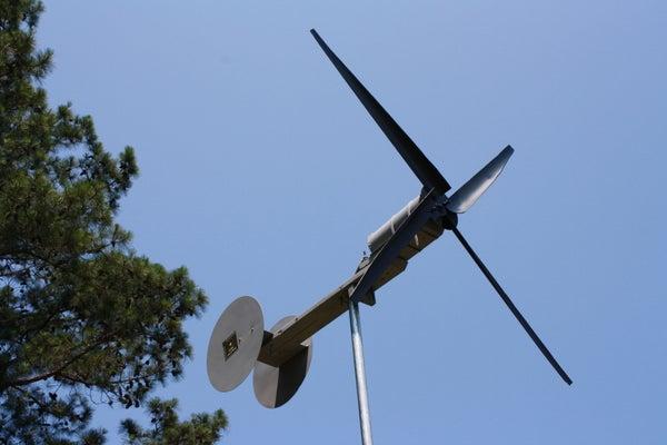 Small Wind Powered Generator