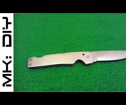 MK: DIY Pocket Knife