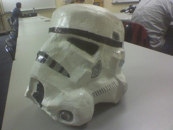Paper Stormtrooper Helmet