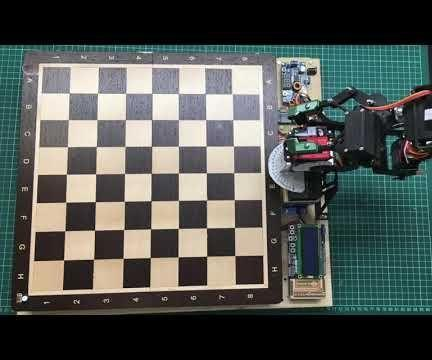 How to Built a Chess Robot With Arduino Mega