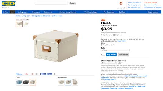 Fantastic Comic Storage Solution (IKEA)
