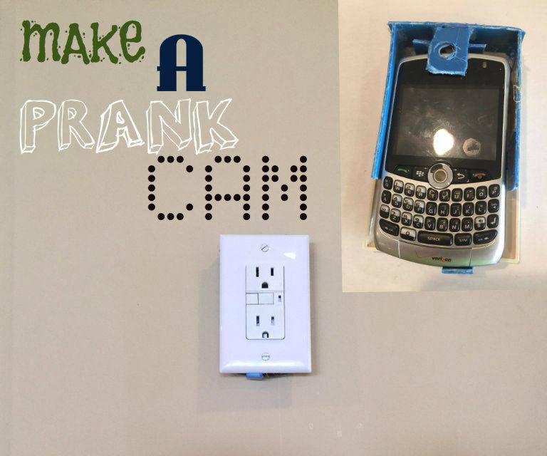 hidden outlet camera