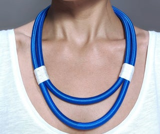 Super Easy Rope'n'Thread Statement Necklace