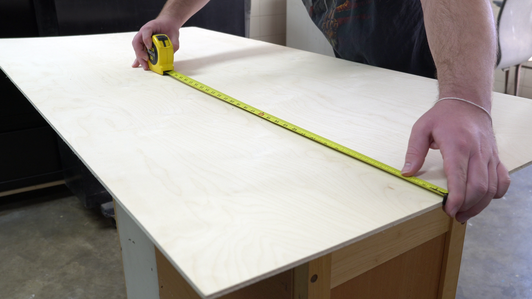Measure, Cut, and Sand
