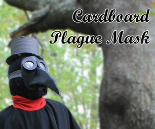 Cardboard Plague Mask