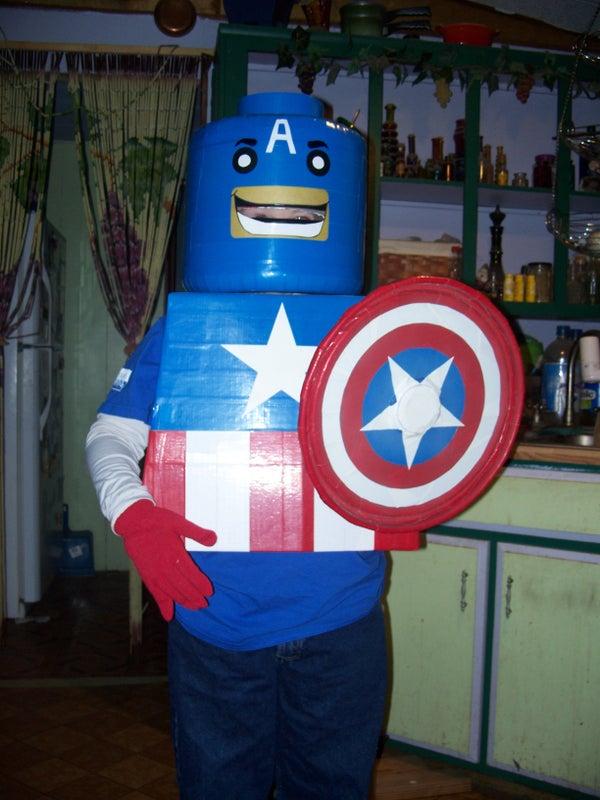 Lego Captain America Costume