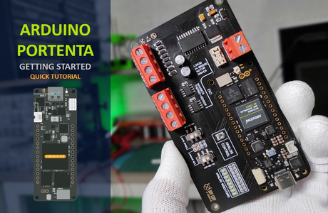Customized Host Board for Arduino Portenta