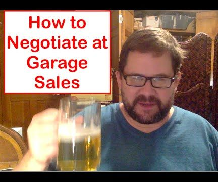 How to Negotiate at Garage Sales
