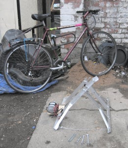 Building a Stand for the Bike