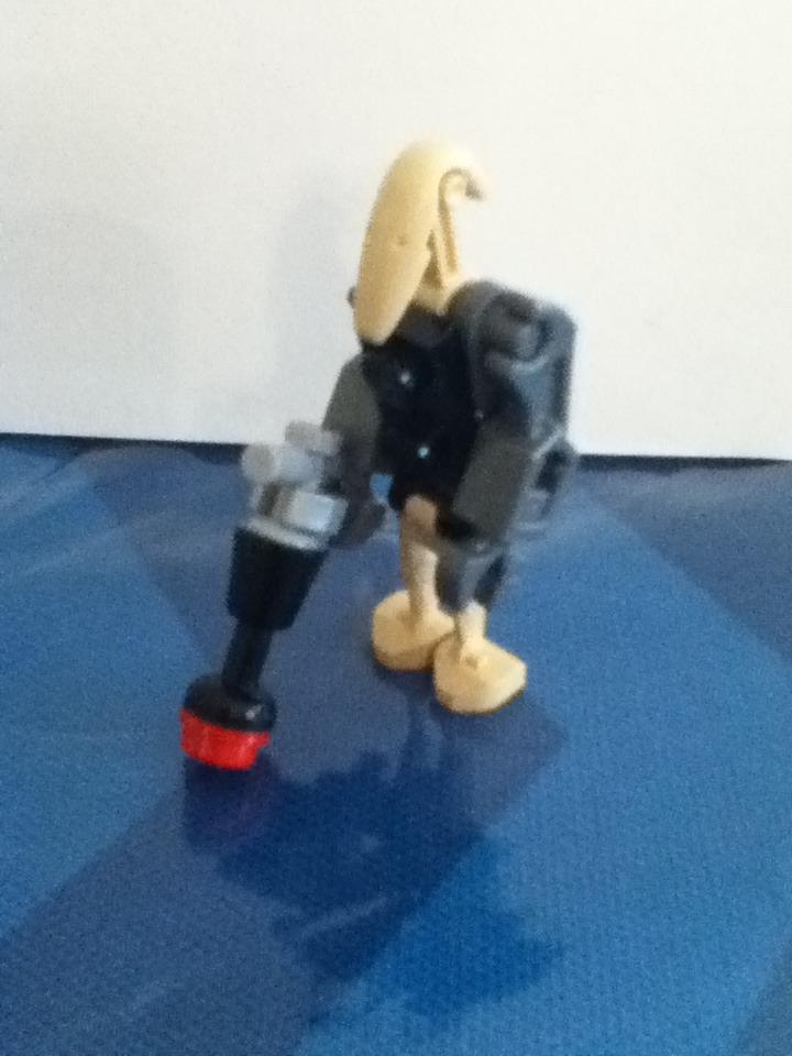 Commander Droid with Laser Gun