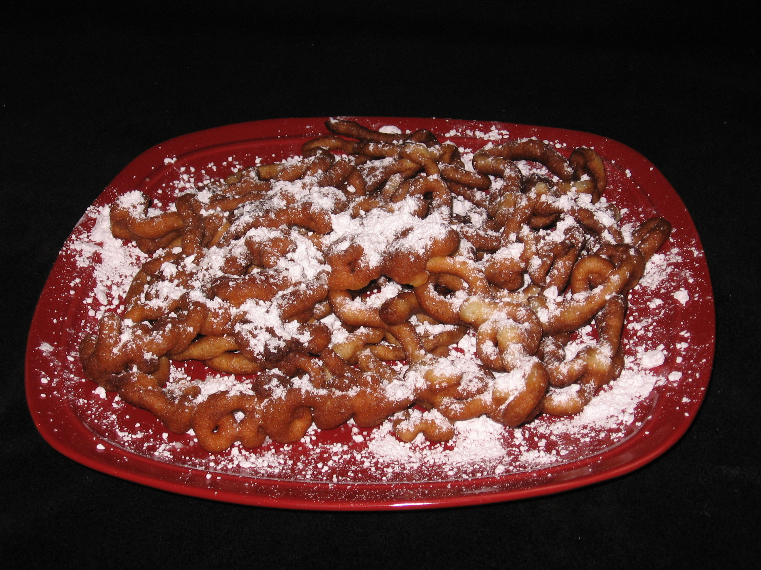 Delicious Homemade Funnel Cake