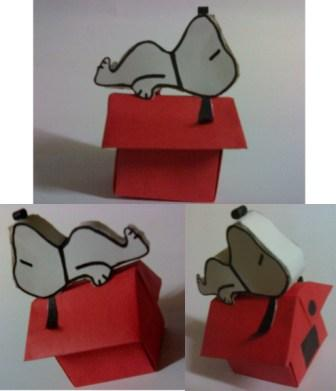 Jireh's Snoopy Papercraft - how to make