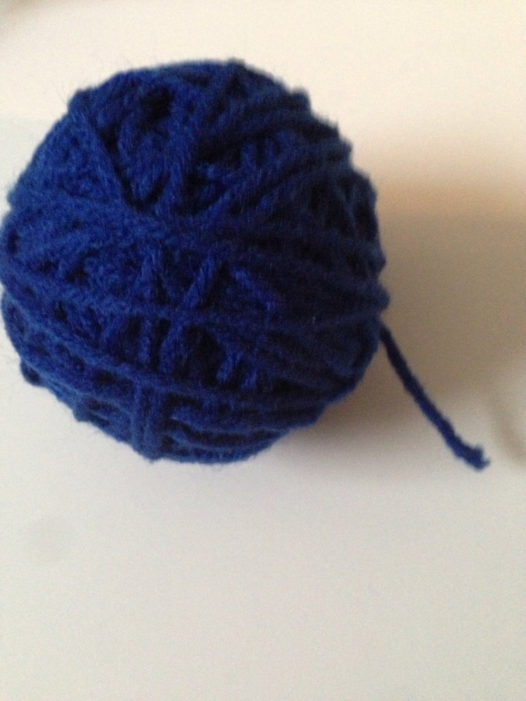 How to Make a Simple and Fast Yarn Ball