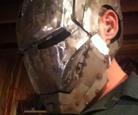 Ironman Welding Helmet Part 1.
