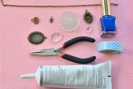 Supplies Needed to Make Tibetan Style Necklace: