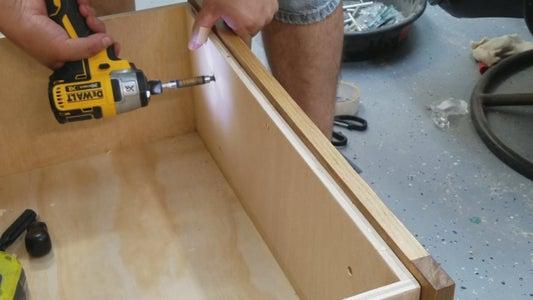 Drawer Front Installation