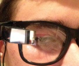 A DIY Google Glass