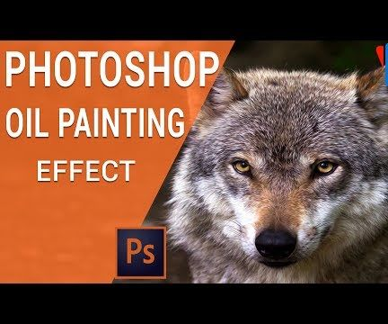 Photoshop Oil Painting Effect