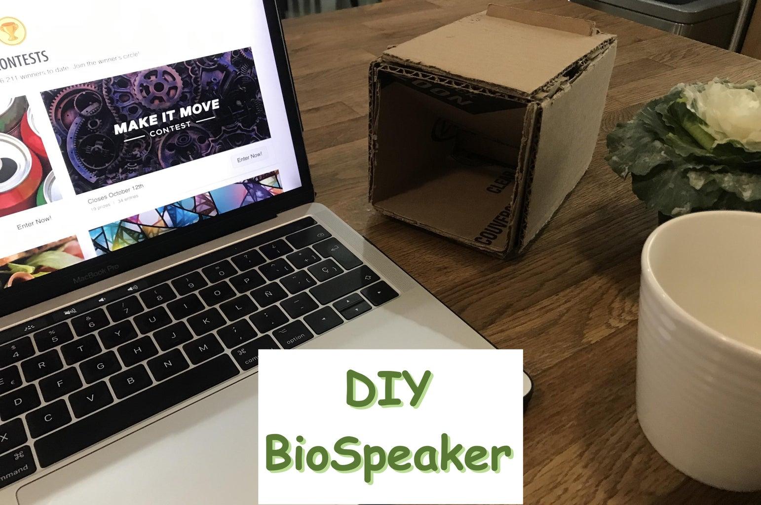 DIY BioSpeaker