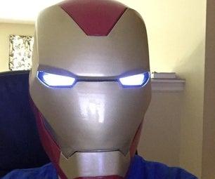 3D Printing an Iron Man Helmet