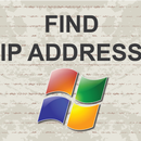 How to check ip address on Windows 7