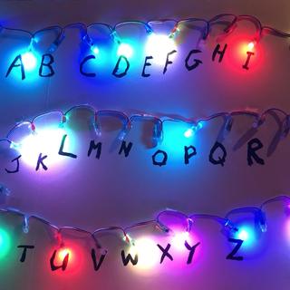 Arduino Based Stranger Things Lights