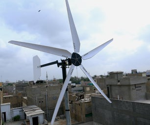 DIY Wind Turbine Using Car Alternator