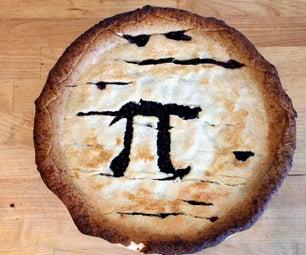 Pi Day Apple Blueberry Layer Pie