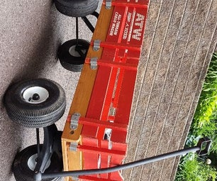 Restore a Radio Flyer Wagon