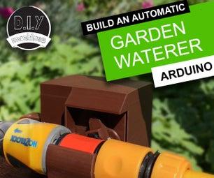 自动花园浇水机| 3D打印| Arduino