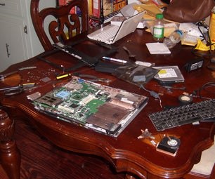 During and After, Repairing My Fathers Laptop PWR SOCKET!