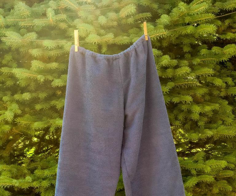 Pantalones de toalla